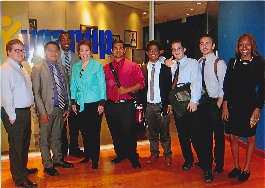 with YearUp participants